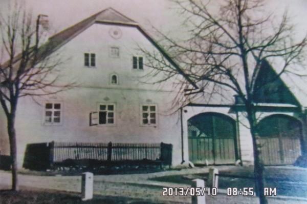 Der Hof von Johann und Elisabeth Eigl in Gossau. Nr. 5.